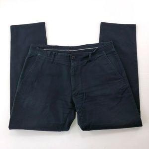 Zara Men's Size 34W Navy Blue Casual Dress Pants